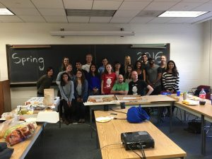 FessLab Spring 2016 pizza party