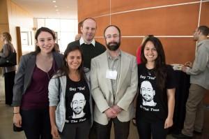 Holbrook, Fessler, & RAs @ Postdoc Award